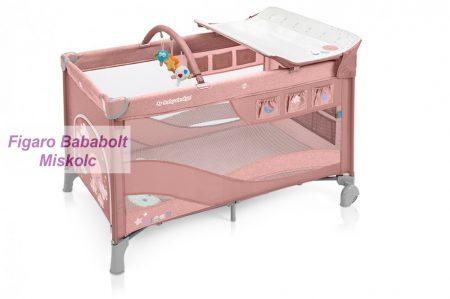 Baby Design Dream utazóágy pink