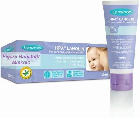 Lansinoh bimbóvédő krém HPA Lanolin 10 ml.