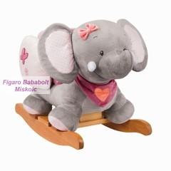 """Nattou Charlotte plüss hintázó állatka """"Adel. az elefánt"""""""