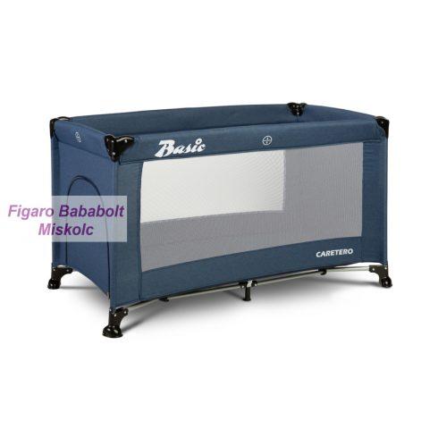 """Caretero Basic utazóágy """"navy"""""""