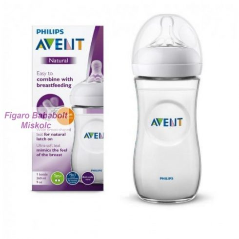 Philips Avent Natural 260 ml. cumisüveg