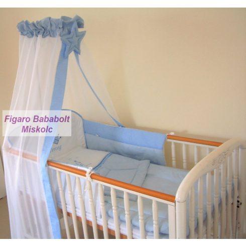 """4 részes bébi ágynemű garnitúra muszlin függönnyel """"Kis Herceg"""""""