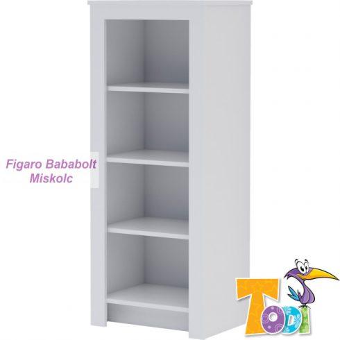 Todi WHITE BUNNY keskeny nyitott szekrény
