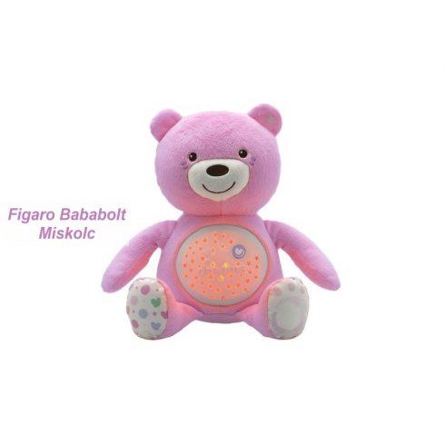"Chicco Baby Bear plüss maci projektor ""pink"""