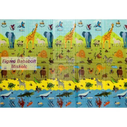"""Habszivacs-szőnyeg 200x140 cm """"ABC Animals"""""""