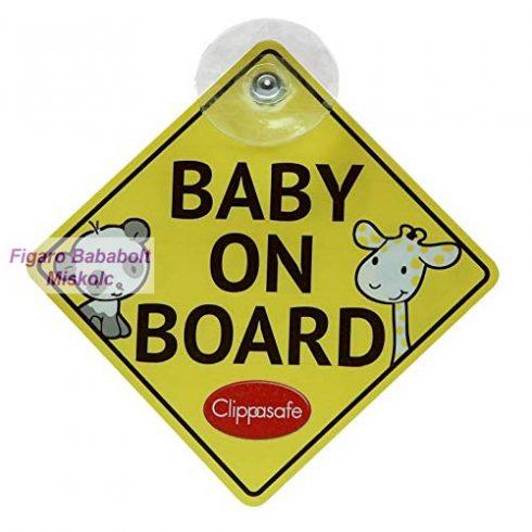 Clippasafe Baby and Child On Board tábla