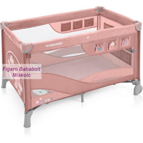 """Baby Design Dream Regular utazóágy """"Pink"""""""
