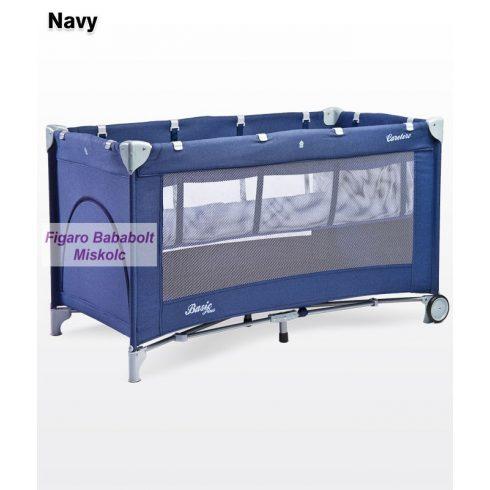 """Caretero Basic Plus utazóágy """"navy"""""""