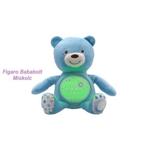 "Chicco Baby Bear plüss maci projektor ""blue"""