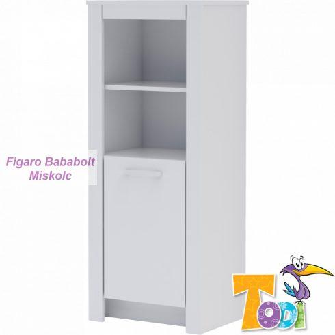 Todi WHITE BUNNY keskeny 1 ajtós szekrény
