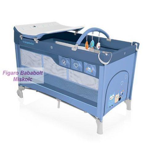 "Baby Design Dream utazóágy ""blue"""