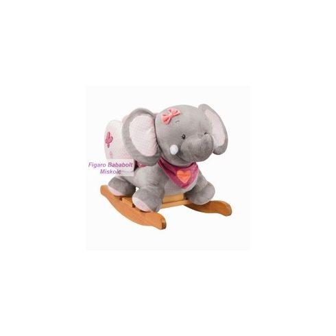"""Nattou plüss hintázó állatka """"Adel, az elefánt"""""""